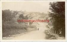 REAL PHOTOGRAPHIC POSTCARD OF AMPLEFORTH, NORTH YORKSHIRE, STEVENS SERIES