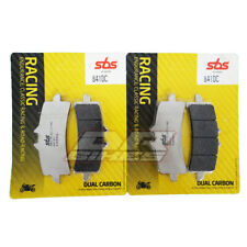SBS Dual Carbon Front Brake Pads 841DC For Brembo M4 Monoblock Calipers
