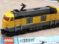 Lego City treno Locomotiva  7939 - cantiere, non motorizzata