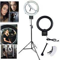 Studio 40W 5400K DIVA Ring Lamp Light w/ Soft Diffuser and 90cm Stand Kit 110V