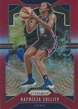 2020 WNBA PANINI PRIZM * NAPHEESA COLLIER* RED PRIZM PARALLEL CARD 189/275 LYNX
