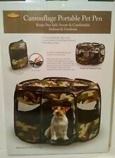 """Etna Camouflage Portable Pet Play Pen (29"""" x 29"""" x 17"""" in.)"""