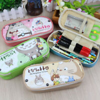 Practical Large Capacity Cute Pen Pencil Case Box School Stationery Cosmetic Bag