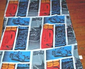 Disney RSN Racing Sports Network Twin Flat Sheet & Dual-sided Pillowcase