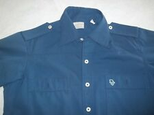Christian Dior 2 pocket Vintage Button Down short sleeve Leisure Shirt Size M-L?