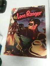 The Lone Ranger #71 dell 1954 golden age western movie comics painted cover rare