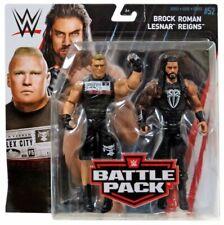 Mattel WWE Wrestling -battlepack Series 52 Roman Reigns & Brock Lesnar