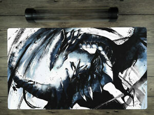 YuGiOh Blue-Eyes White Dragon Trading Card Game Playmat Mat Free BestTube