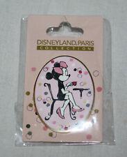 Disneyland Paris Minnie Parisienne Pin Bistrot Drinking Coffee Tea Mint Disney