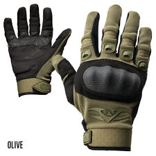 Valken Tactical Zulu Gloves Olive - Small Hard Covered Knuckles Padded Palms