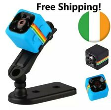 Security Camera Mini Spy Cam HD 1080P DV Hidden Night Vision Car Black SQ11