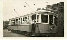 6A211 RP 1930s? UNITED ELECTRIC RAILWAY PROVIDENCE RI CAR #2004 BROAD CITY LINE