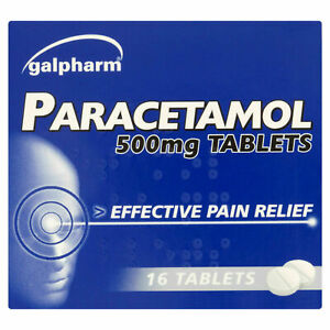 16xParactml Tablets Headache ,Pain-killers,Back Pain,All Pain Reliver(2 Maximum)
