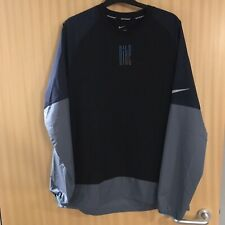 Nike Dri-Fit Black Training Top Running Top Size Large Grest Condition