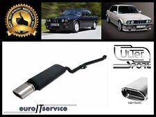 SILENCIEUX POT D'ECHAPPEMENT BMW E30 4CYL. 1987 1988 1989 1990 1991 TIP 145x75