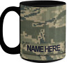 US Air Force (USAF) Master Sergeant (MSgt) Personalized 15 oz Mug|FREE SHIPPING