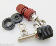 2x 60A Power Amplifier AC Power Binding Post M6x46mm