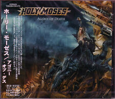 HOLY MOSES Agony Of Death + 1 JAPAN CD Temple Of The Absurd Dark Age Assassin