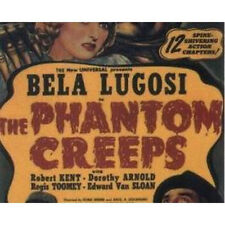 THE PHANTOM CREEPS 1939 SERIAL DVD Bela Lugosi COMPLETE