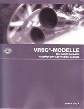 HARLEY Handbuch elektr Diagnose VRSCA VRSCR DEUTSCH 99499-06GA Anleitung Buch