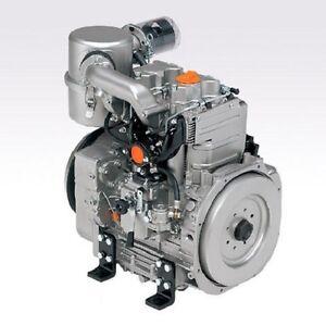LONG BLOCK MOTORE LOMBARDINI 9LD 625/2 DIESEL 2 CILINDRI - ENGINE - MOTEUR KD625