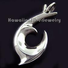 Sterling Silver Pendant TRIBAL FISH HOOK