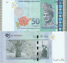 MALAYSIA 50 Ringgit Banknote World Money Currency BILL Asia Note p50 2009 Rahman