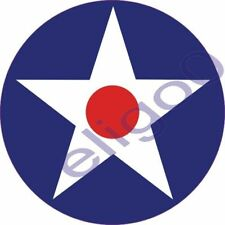 1x USA 1926-1941 Air force Roundel vinyl sticker decal
