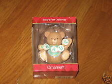 American Greetings Baby's First Christmas Ornament NEW