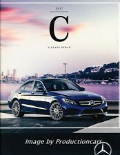 2017 Mercedes Benz C-CLass 28-page Sales Brochure Catalog C300 C63 C43 AMG C350e