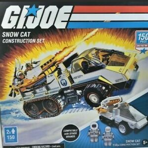 ⚡GI JOE SNOW CAT CONSTRUCTION SET HASBRO FOREVER CLEVER 150 PIECE 2020
