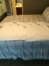 2 Wake Forest Demon Deacons Nike Dri-Fit Polo Shirts-Xl-White-New With Out Tags