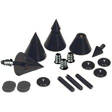 Dayton Audio- DSS4-BK Black Speaker Spike- Set 4 Pcs.