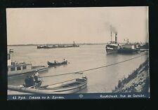 Bulgaria PYCE River Danube bank scene 1928 RP PPC
