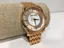 Reloj Watch Montre JUST CAVALLI - Quartz - Golden Steel - 3 ATM - 40 mm diameter