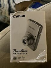 canon powershot elph 180 digital camera