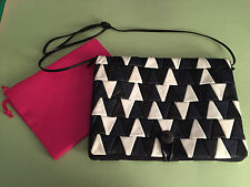 "NEW Soft Swatch ""Porta Tablet"" Bag Recycled by Carmina Campus OOAK Ilaria Fendi"