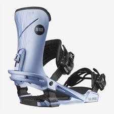 Fixations Snowboard Fixations Femme salomon Nova Bleu TAILLE S Échantillons 2021
