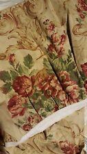 RALPH LAUREN Grosvenor Floral Linen Queen Bed Skirt French Country New