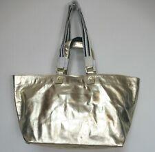 New Boden Edinburgh Gold Leather Shopper Shopping Bag