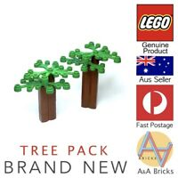 Genuine LEGO® - Tree Pack - (Green, Garden, MOC) - Brand New - Free Postage