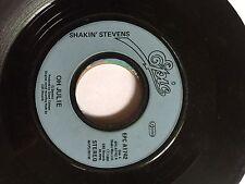 "Shakin Stevens Oh Julie 7"" vinyl EPC1742 1981 REF1313"