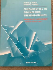 Fundamentals Of Engineering Thermodynamics Problem Set Supplement 3rd Edition