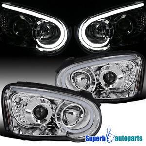 For 2004-2005 Subaru Impreza WRX Projector Headlights Signal Lamps