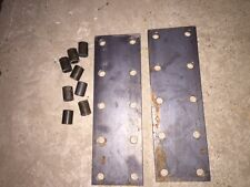 2 Farmall H M Super H Mta Ihc Tractor 10 Hole Fender Extension Brackets Spacers