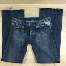 Replay Brand Distressed Boot Cut Women's Jeans Size W34 L32 Fit W35 L33.5 (EE11)