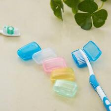 5 Set Plastic Portable Outdoor Travel Toothbrush Cover Wash Brush Cap Case Box