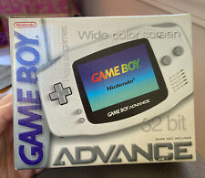 Nintendo Arctic Gameboy Advance GBA BOX and INSERTS ONLY