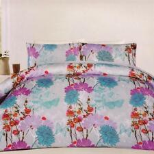 Polyester Floral Quilt Covers wtih Pillow Case