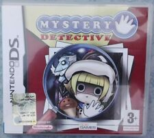 MYSTERY DETECTIVE 1 I - NINTENDO NDS DS DSi 3DS 2DS PAL ITA ITALIANO COME NUOVO